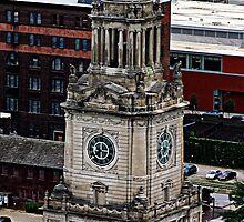 Clock Tower by Jeffrey J. Miller
