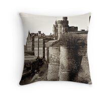 Edinburgh, Westward View Throw Pillow