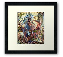 Dream or reality Framed Print
