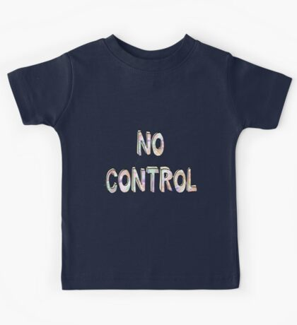 No Control - One Direction  Kids Tee