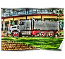 Construction in Kings Park Poster