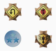 Halo Medals Sticker Pack by Erik Johnson