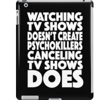 tv shows iPad Case/Skin