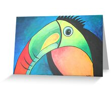 Bold Toucan Greeting Card