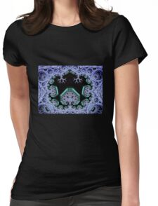 Seied - Pythagoreanshroomworld - Burning Man 2011 Womens Fitted T-Shirt