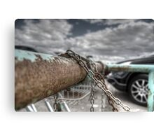 Rust and Chains.  Canvas Print