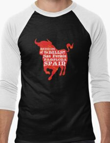 Running of the Bulls Men's Baseball ¾ T-Shirt