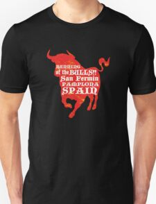 Running of the Bulls Unisex T-Shirt