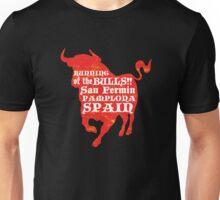 Running of the Bulls Unisex T-Shirt