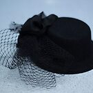 Black Fascinator by TeAnne