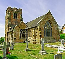St Leonard's Church, Wychnor by Rod Johnson
