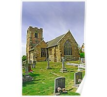 St Leonard's Church, Wychnor Poster