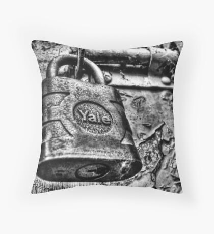 Random Lock Throw Pillow