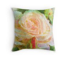 Rose OF Peace Throw Pillow