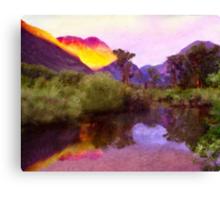 Beaver Pond Sunrise Canvas Print