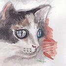 Feline beauty by acquart
