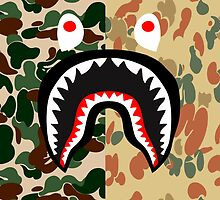 bape shark bromilt by goldney09