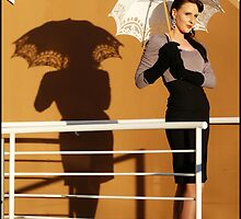 Elegance with a brolly by skorphoto