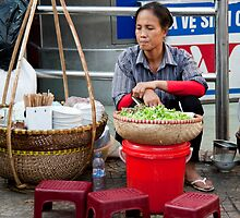 Hanoi Street Food by phil decocco