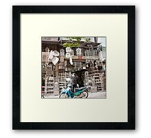 Iron Works Storefront Framed Print