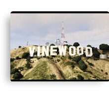 Welcome To Vinewood Canvas Print
