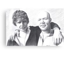 Father and Son - commission Canvas Print