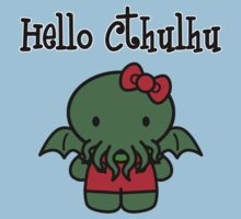 Hello Cthulhu! Kids Clothes