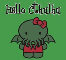 Hello Cthulhu! by kakupacal
