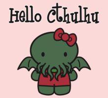 Hello Cthulhu! One Piece - Long Sleeve