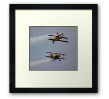 The Pitts Pair Framed Print