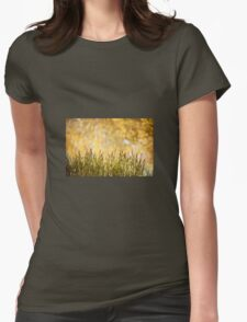 decorative reeds and yellow reflection  T-Shirt