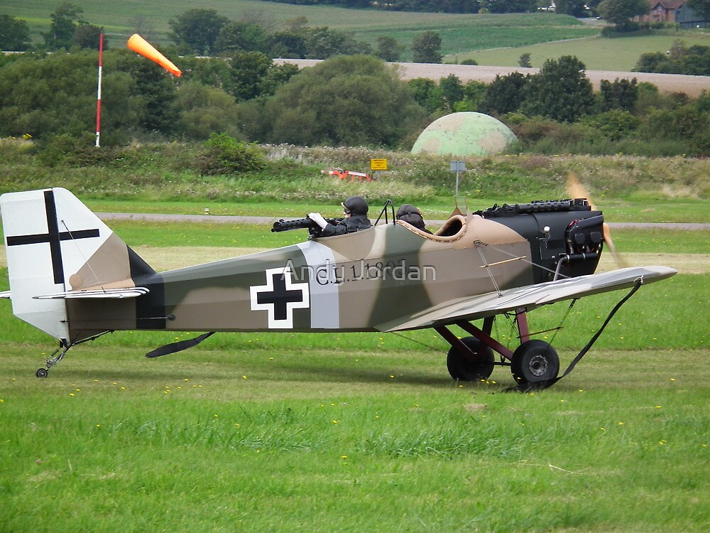 Junkers CL1(replica) Bowers Fly Baby 1A G-BUYU by Andy Jordan