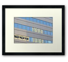 Reflections Of Denver Framed Print