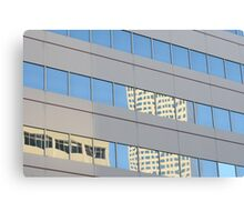 Reflections Of Denver Canvas Print