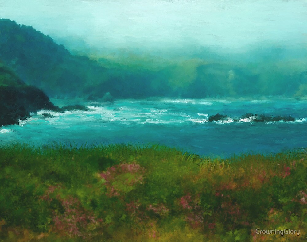 Mendocino Fog by CrowningGlory