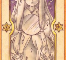 "Clow card ""The Mirror"" Sticker"