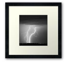 Taking it to the Street Framed Print