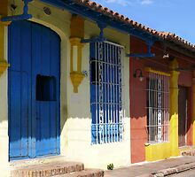 Colonial houses in Camaguey, Cuba by krista121