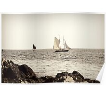 The Perfect Spot ~ Kennebunkport, Maine Poster