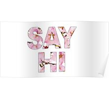 Say Hi Poster