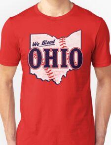 We Bleed Ohio - Logo Tribe Red T-Shirt