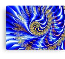 Three Layer Mandelbrot Illusion  (UF0417) Canvas Print