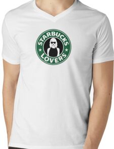 ts starbucks lovers Mens V-Neck T-Shirt