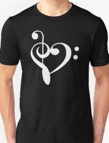 MUSIC HEART rock T-Shirt