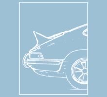 Porsche 911 2.7 RS - The Business End. (White) Baby Tee