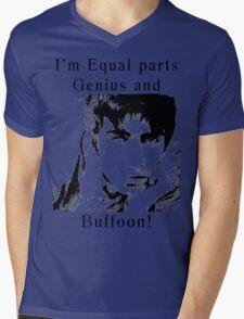 Genius Gallagher Mens V-Neck T-Shirt