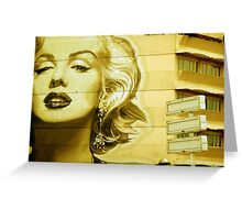 Living With Marilyn Greeting Card