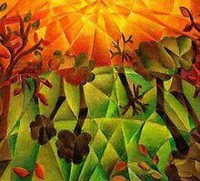 Flaming Autumn by tiffanybudd