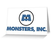Monsters, Inc. Greeting Card