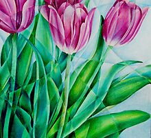Fractured Tulips by Tiffany Budd
